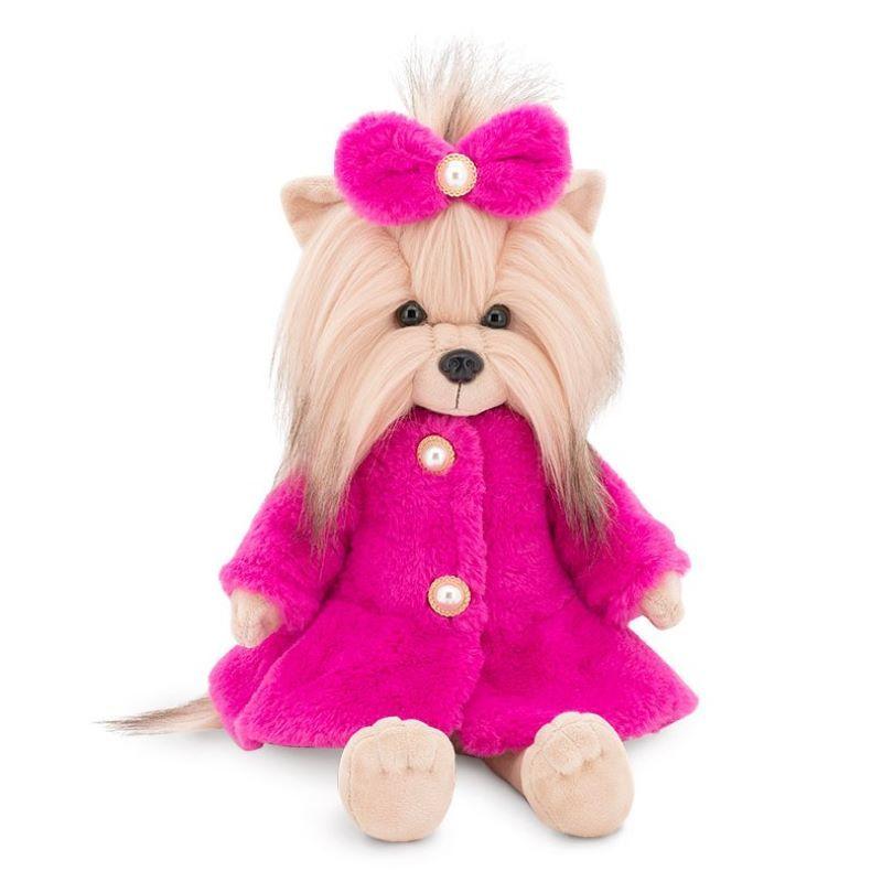 Собачка LUCKY YOYO Розовая шубка (Orange Toys) на каркасе