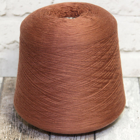 Меринос 2/60 TOLLEGNO / NEW ROYAL 1900 светло-коричневый