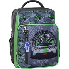 Рюкзак школьный Bagland Школьник 8 л. хаки 903 (0012870)