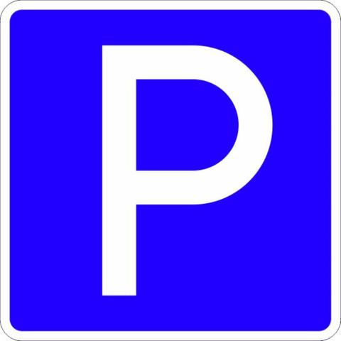 Знак дорожный 6.4 Пароковочное место