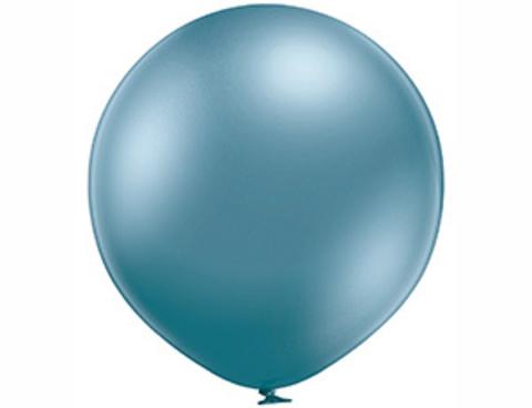 Большой шар Хром Синий