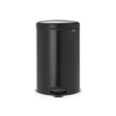 Мусорный бак newicon (20 л), Черный матовый