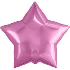 Р Звезда, Розовый, 19''/48 см, 1 шт.