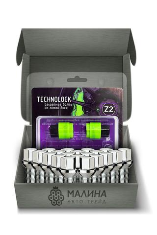 Готовый набор из колёсных болтов М14x1.5 и комплекта секреткок TECHNOLOCK Z2