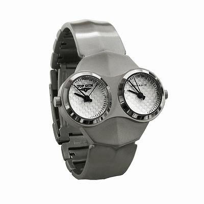 Часы 'Top Gun® Dual Face' Silver Face