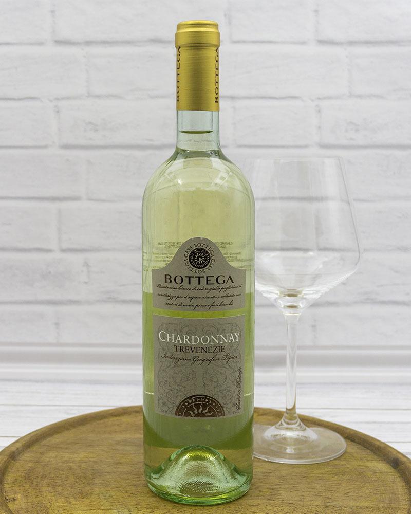 Вино Белое Cухое Bottega Шардоне Тревенецие 12%, 0,75 л.