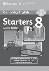 C Young Learners Eng Tests 8 Starters Answer Booklet