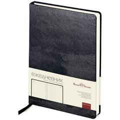 Ежедневник недатированный Bruno Visconti Megapolis искусственная кожа А5 160 листов черный (145x215 мм)
