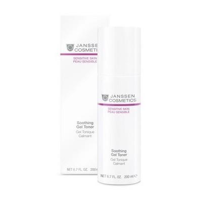 Janssen Sensitive Skin: Успокаивающий тоник для чувствительной кожи лица (Soothing Gel Toner), 200мл