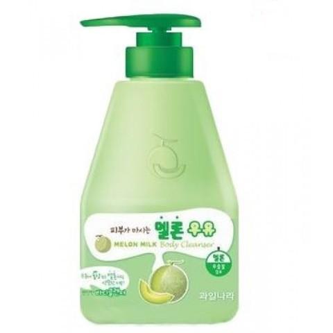 Welcos Kwailnara Гель для душа дынный Kwailnara Melon Milk Body Cleanser 560гр