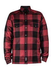 Моторубашка с кевларом John Doe Motoshirt Red