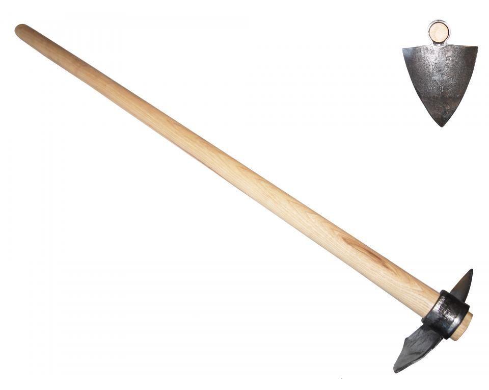 """Мотыга """"Челси"""" с круглыми зубцами DeWit рукоятка из ясеня 400мм"""