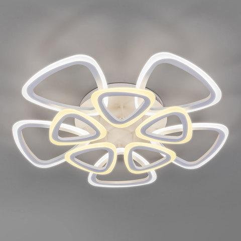 Потолочный светодиодный светильник с пультом управления 90216/10 белый