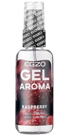 Интимный лубрикант EGZO AROMA с ароматом малины - 50 мл.