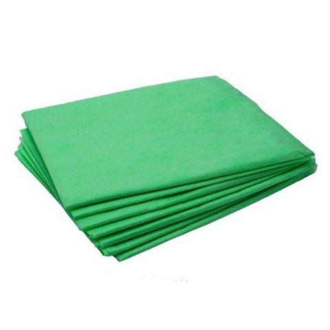 Простынь 80х200, Зеленая, инд. сложение, 18 г/м2 (50 шт)
