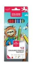 Карандаши цветные LION 3552, 12 цветов