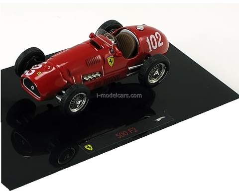 Ferrari 500 F2 GP Germany Formula 1 Farina 1952 Hot Wheels Elite 1:43
