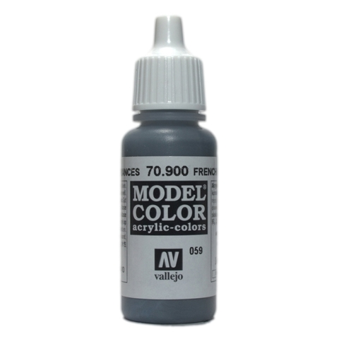 Model Color French Mirage Blue 17 ml.