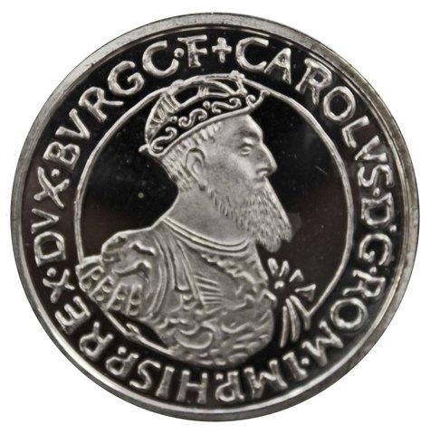5 экю. 30 лет Римскому договору. Бельгия. Серебро. 1987 г. ехPROOF