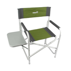 Купить кресло рыболовное директорское с откидным столиком Helios MAXI (Т-HS-DC-95200T-M-GG)