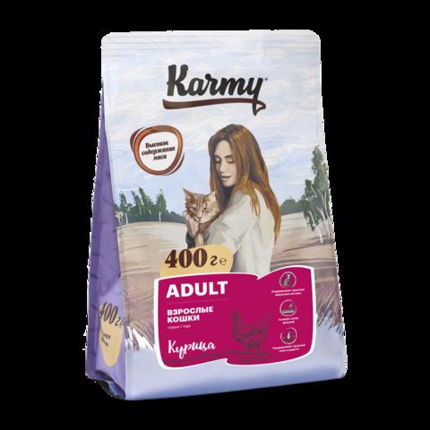 Karmy Adult Сухой корм для кошек с курицей
