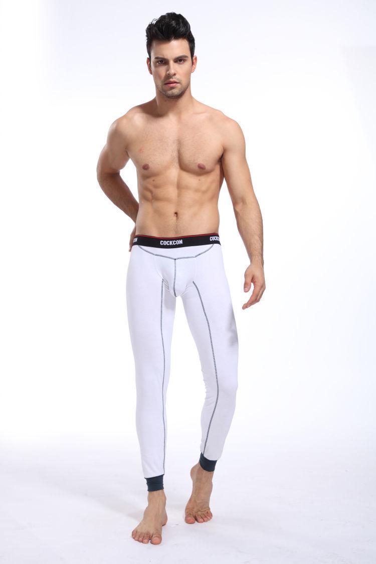 Мужские кальсоны белые Cockon Pants