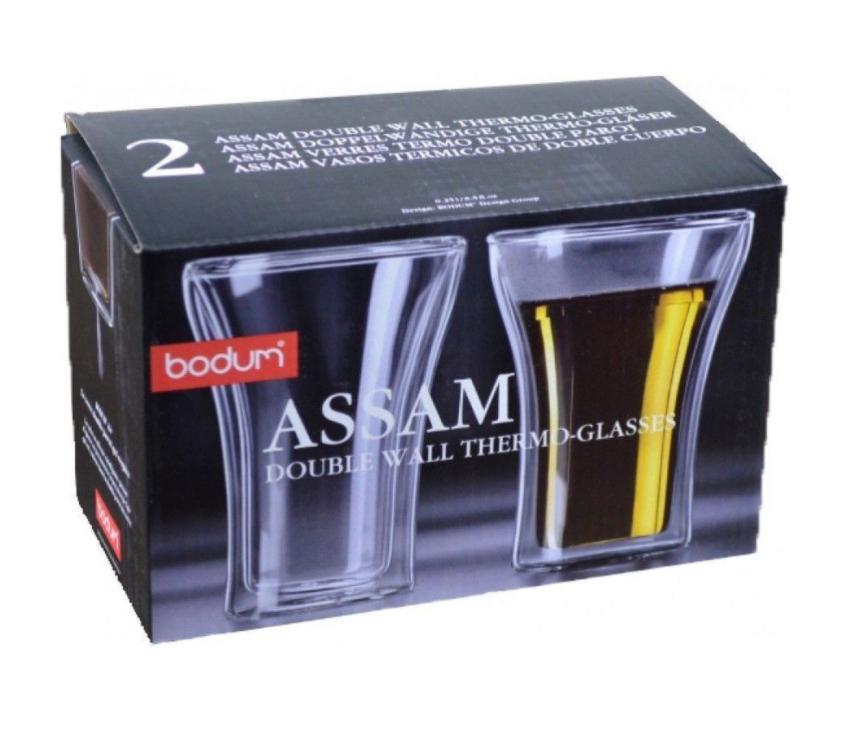 Набор термобокалов Bodum Assam, 2 шт., 0,25л