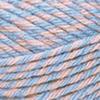 Пряжа Nako Sport Wool 21328 (Розово-голубой меланж)