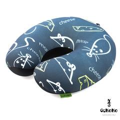 Подушка-подголовник Gekoko «Крыски Туристки» 2