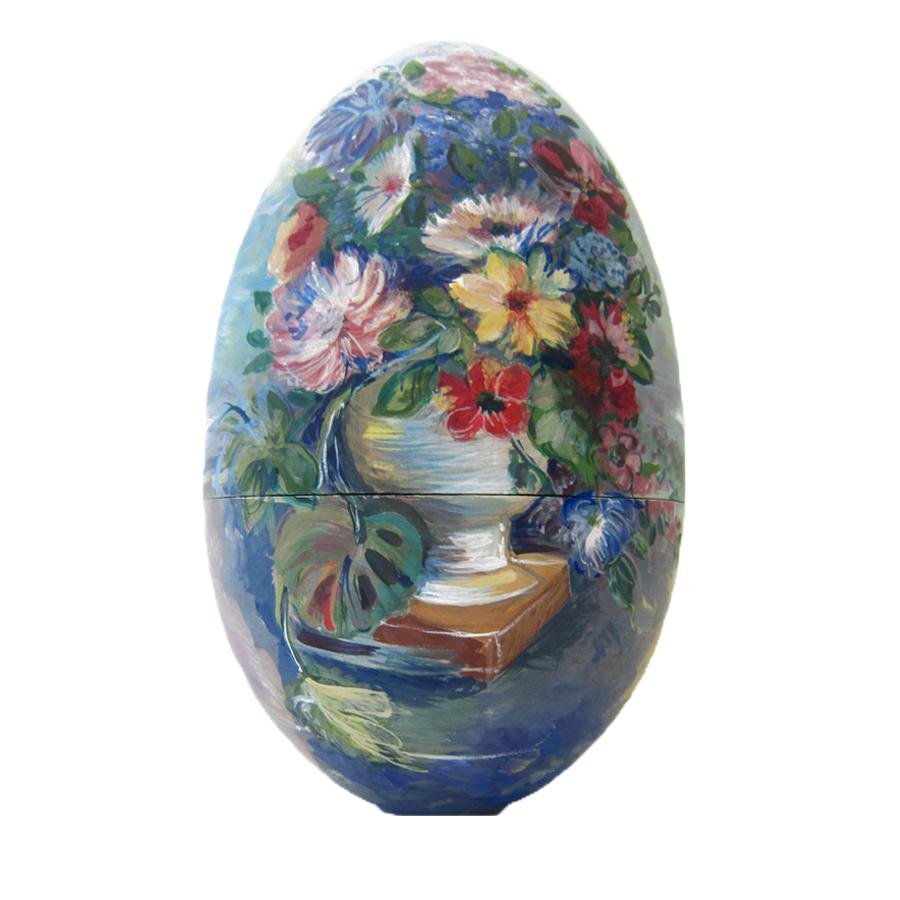 Яйцо-шкатулка пасхальное Крымский букет