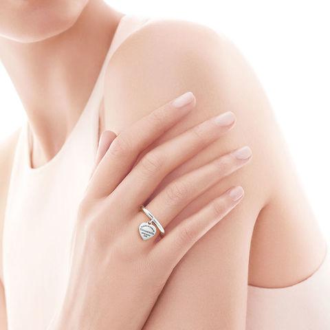 Кольцо Tiffany Heart серебро