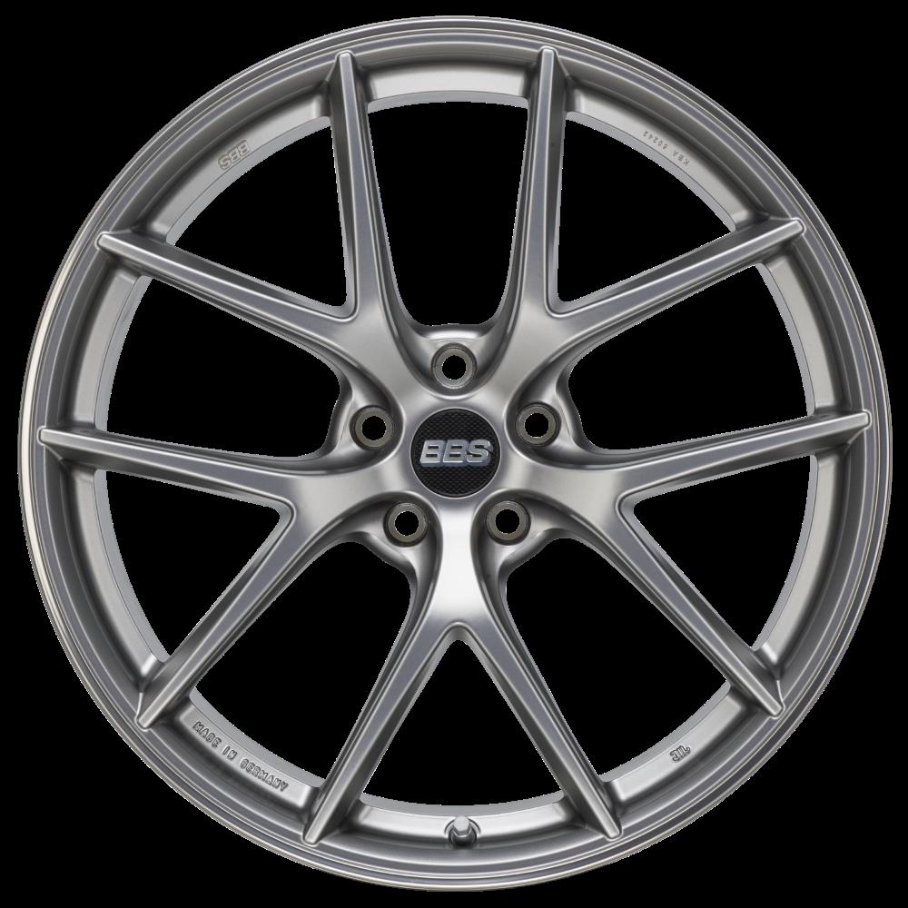 Диск колесный BBS CI-R 9.5x19 5x112 ET25 CB82.0 platinum silver