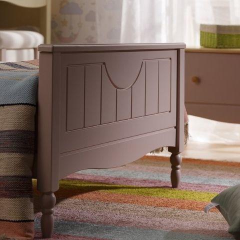 Кровать Айно 4 (розовая пастель)