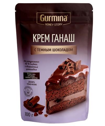 Крем ганаш с тёмным шоколадом, 100г.