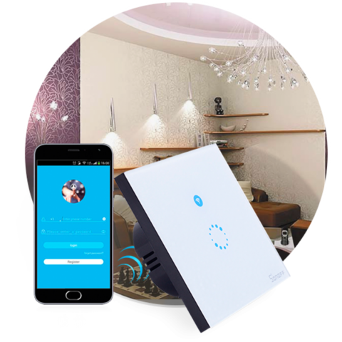 WiFi выключатель Sonoff Light T1