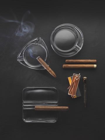 Пепельница квадратная Ashtray Cuba артикул 99372. Серия Cigar