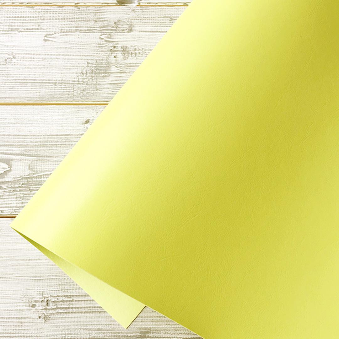 Искусственная кожа SyNT3 VIVELLA лимонный