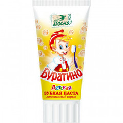 Зубная паста Весна Буратино 75мл лимонадный взрыв 1827