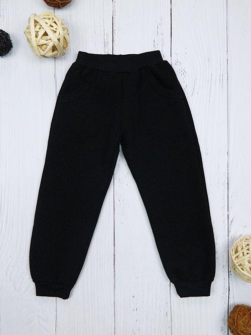 Брюки с карманами, 2401, черные