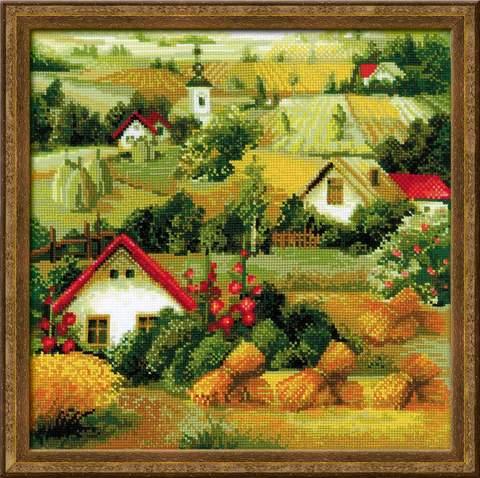 Набор для вышивания крестом «Сербский пейзаж» (1569)