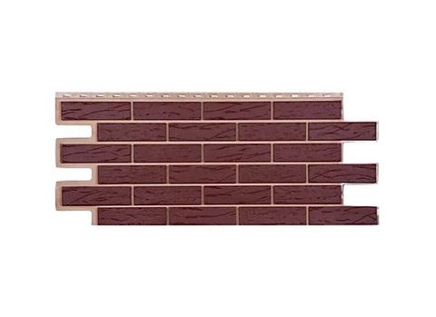Фасадная панель Саман - Коричневый