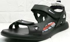 Трекинговые сандалии босоножки летние мужские Nike 40-3 Leather Black.