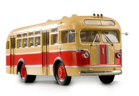 ZIS-155 beige-red Classicbus 1:43