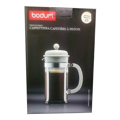 Френч-пресс Bodum Caffettiera (0,35 литра), белый