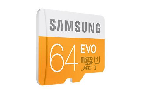 Карта памяти microSD Samsung 64 Gb