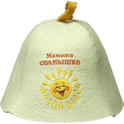 Шапка детская Мамино солнышко