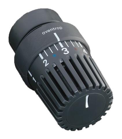 Oventrop 'Uni LH' термостат антрацит с декоративным кольцом (1011467)