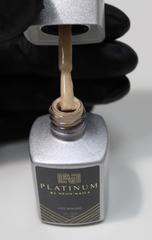 Купить бежевый гель-лак с шиммером PLATINUM