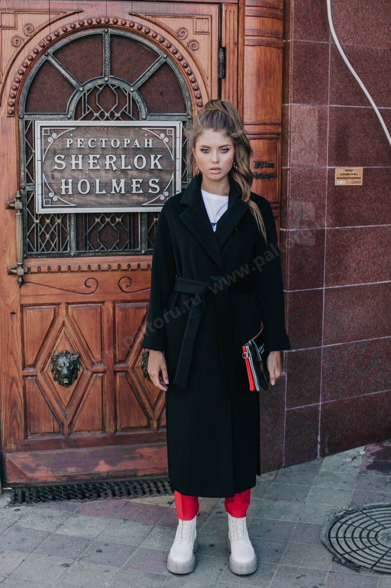 Пальто женское пальто-халат