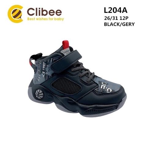 Clibee L204A Black/Grey 26-31
